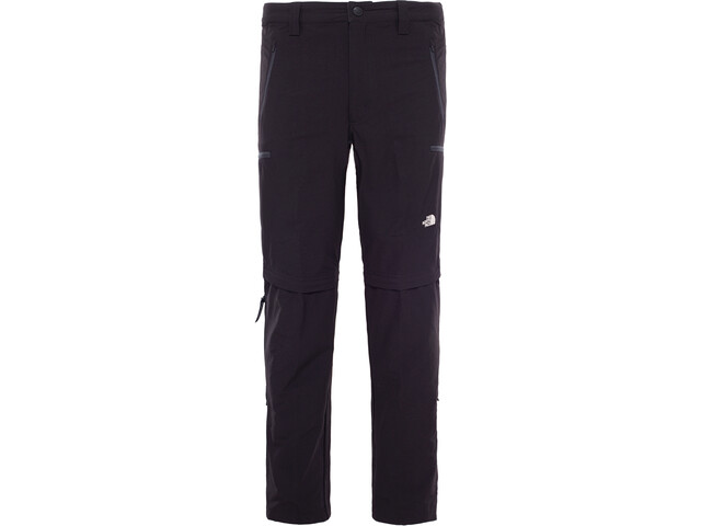 The North Face Exploration Pantalones convertibles Hombre, tnf black
